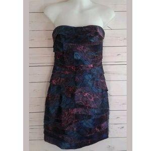 bebe Dresses - Bebe Strapless Dress Party Formal Sweetheart  Mini